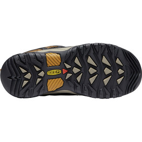 Keen Targhee WP Shoes Youth dark earth/golden brown